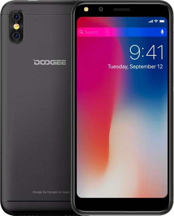 DOOGEE X53, 16GB, černá