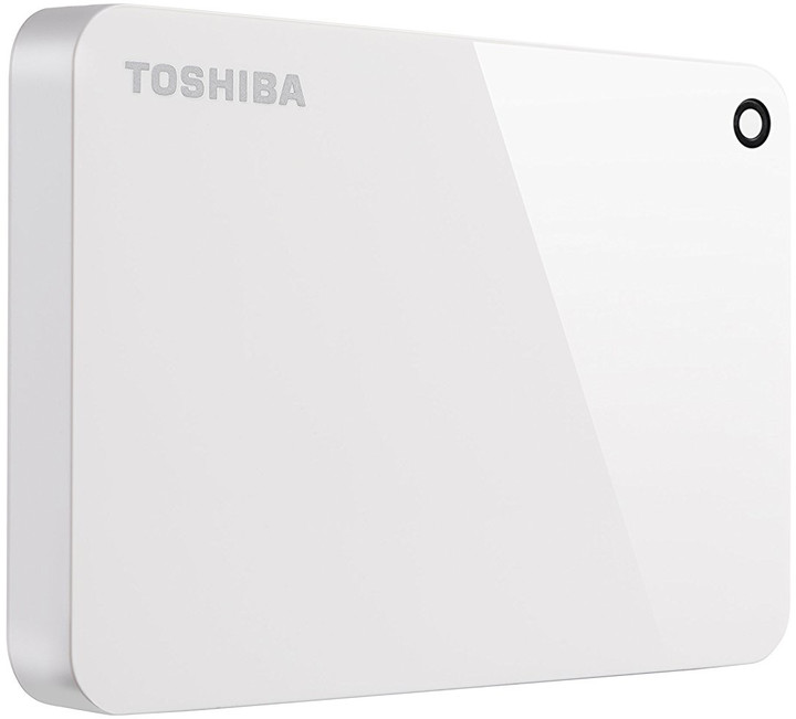Toshiba Canvio Advance - 2TB, bílá