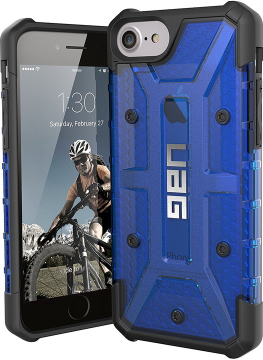 UAG plasma case Cobalt, blue - iPhone 8/7/6s