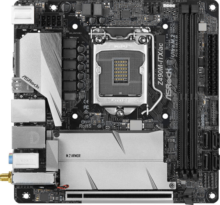 ASRock Z490M-ITX/AC - Intel Z490