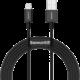 BASEUS kabel Superior Series USB-A - Lightning, rychlonabíjecí, 2.4A, 2m, černá