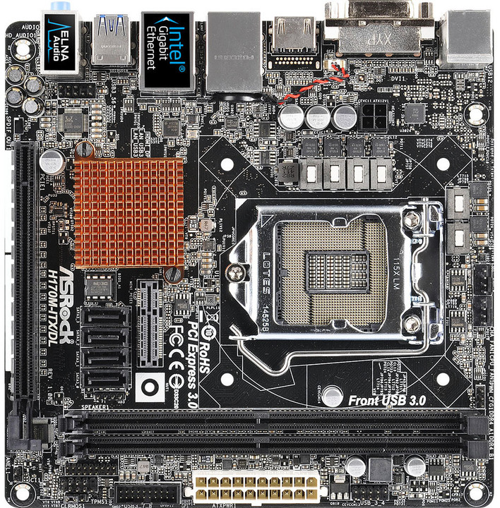 ASRock H170M-ITX/DL - Intel H170