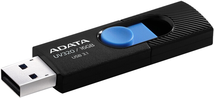 ADATA UV320 16GB, černo/modrá
