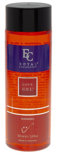 Masážní olej Love Gel, Warming, 100 ml