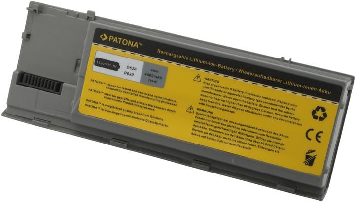 Patona baterie pro Dell, LATITUDE D620 4400mAh Li-Ion 11,1V