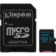 Kingston Micro SDXC Canvas Go! 64GB 90MB/s UHS-I U3 + SD adaptér