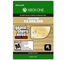 Grand Theft Auto V - Whale Shark Cash Card (Xbox ONE) - elektronicky