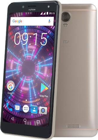 myPhone FUN 18x9, 1GB/8GB, zlatá