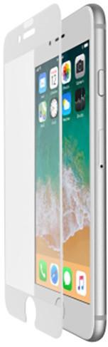 Belkin Tempered Glass ochranné zakřivené sklo displeje pro iPhone 7+/8+ bílé, s instalačním rámečkem