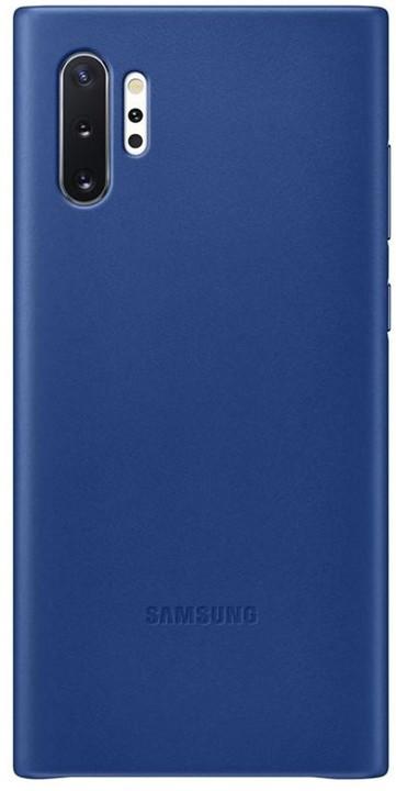 Samsung kožený zadní kryt pro Galaxy Note10+, modrá