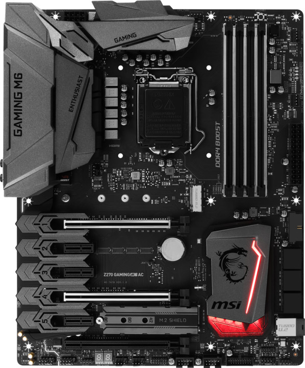 MSI Z270 GAMING M6 AC - Intel Z270