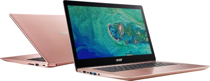Acer Swift 3 celokovový (SF314-52-32FJ), růžová