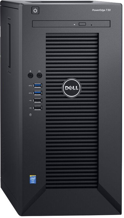 Dell PowerEdge T30 /E3-1225 v5/8GB/1x 120GB SSD + 1x 1TB 7.2K/Bez OS