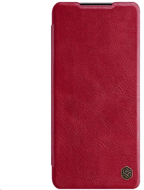 Nillkin pouzdro Qin Book pro Samsung Galaxy S21, červená