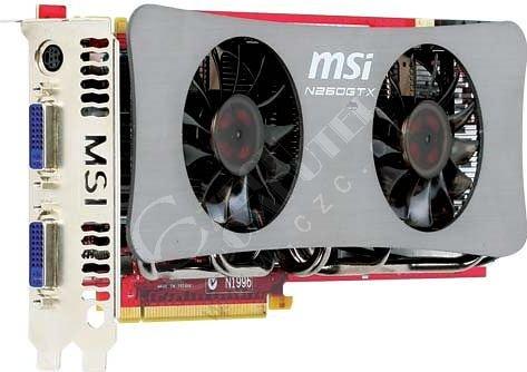 MSI N260GTX TwinFrozr OC 896MB, PCI-E
