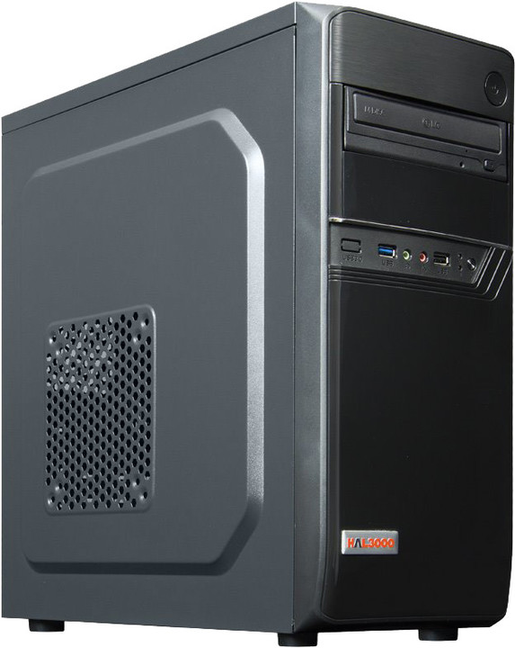 HAL3000 Enterprice 2400G, černá