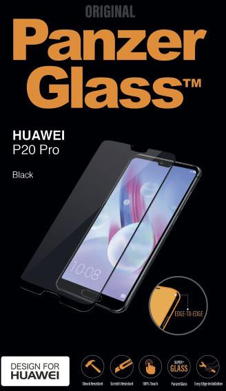 PanzerGlass Edge-to-Edge pro Huawei P20 Pro, černé