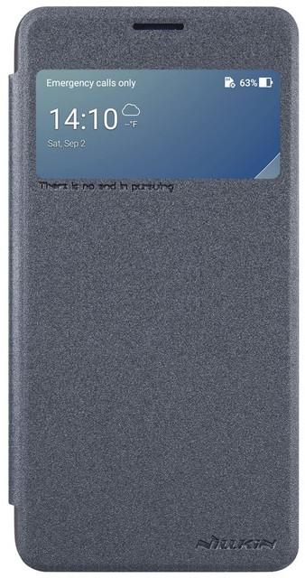 Nillkin Sparkle S-View pouzdro pro ASUS Zenfone 4 Max ZC554KL, Black