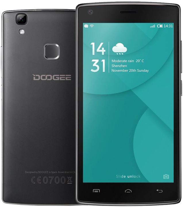 DOOGEE X5 Max Pro - 16GB, černá
