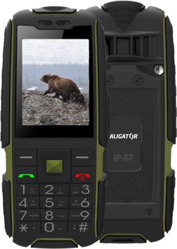 Aligator R20 eXtremo, černo/zelená
