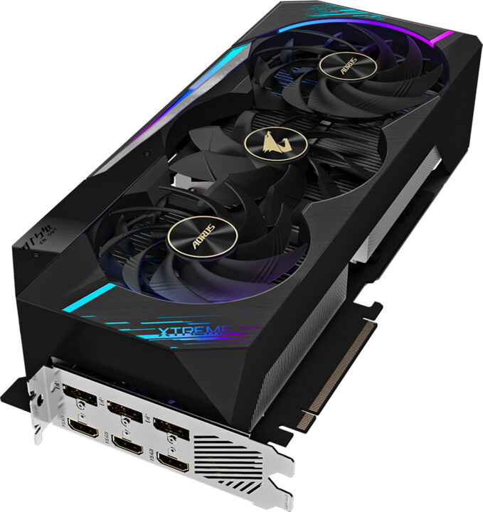 GIGABYTE GeForce RTX 3090 AORUS XTREME 24G, 24GB GDDR6X