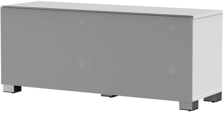 Meliconi 500404 TV stolek, textilní 12040F, bílá