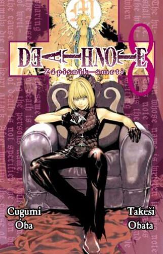 Komiks Death Note - Zápisník smrti, 8.díl, manga