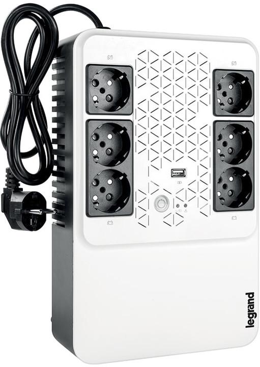 Legrand Keor Multiplug 800VA FR