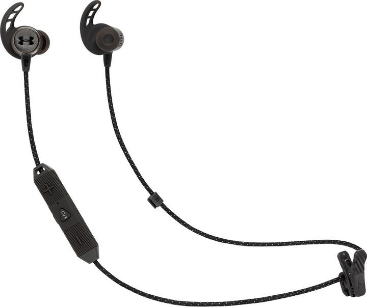 JBL Under Armour Sport Wireless React, černá