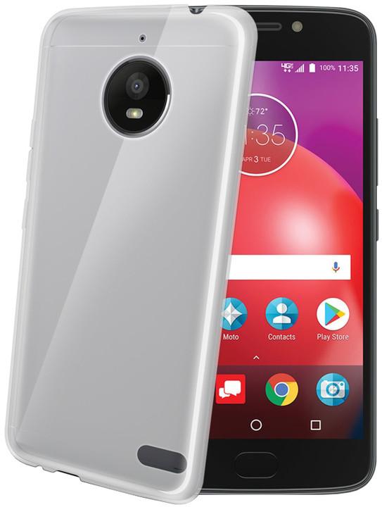 CELLY Gelskin TPU pouzdro pro Motorola Moto E4, bezbarvé