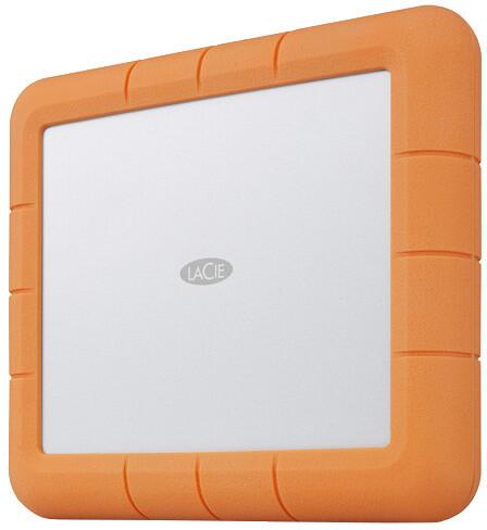 LaCie Rugged RAID Shuttle - 8TB, oranžová