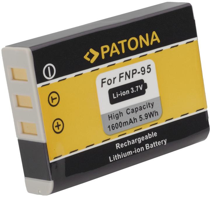 Patona baterie pro Fuji NP-95 1600mAh 3,7V Li-Ion