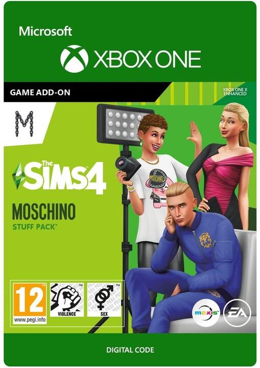 The Sims 4: Moschino Stuff Pack (Xbox ONE) - elektronicky