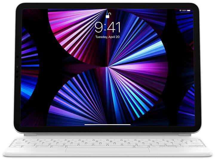 "Apple ochranný kryt s klávesnicí Magic Keyboard pro iPad Pro 11"" (3.gen)/ Air 10.9"" (4.gen), CZ, bílá"