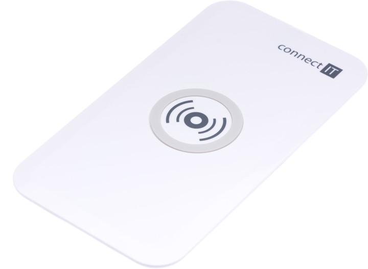 CONNECT IT bezdrátová nabíječka, bílá