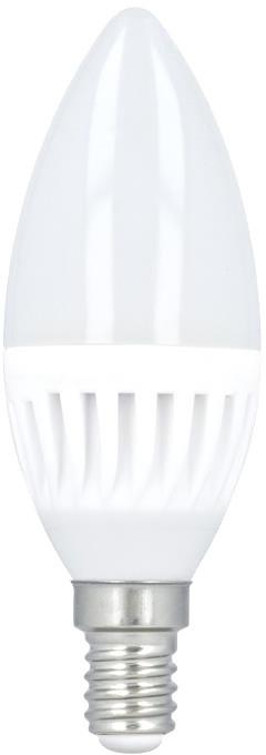 Forever LED žárovka C37 E14 10W, studená bílá