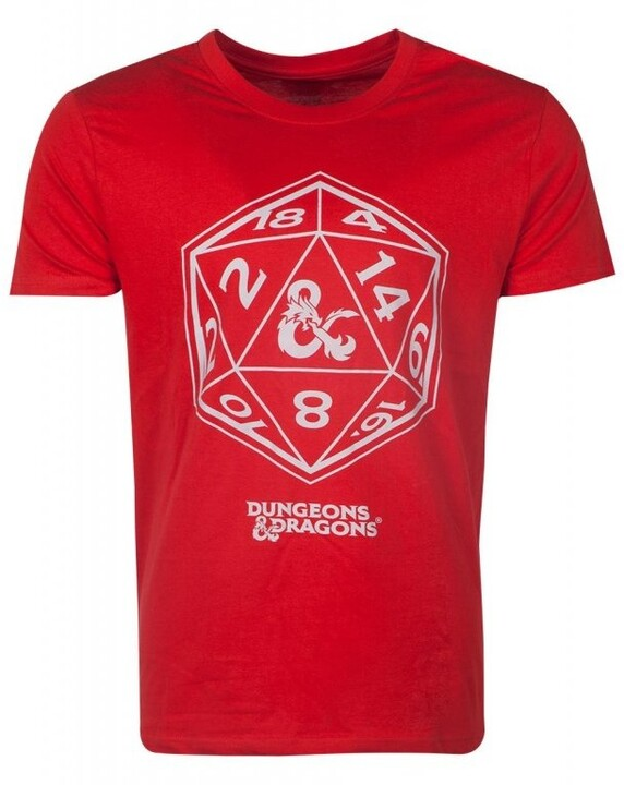 Tričko Dungeons & Dragons: Dice (XL)