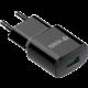 YENKEE YAC 2023BK USB nabíječka QC3.0, černá