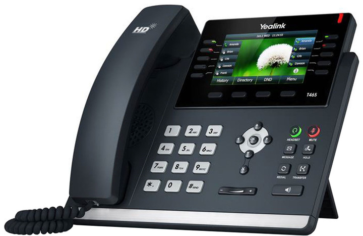 YEALINK SIP-T46S telefon, Skype for Business