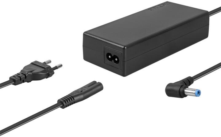 AVACOM nabíjecí adaptér pro notebook, zahnutý konektor 5.5x2.5mm, 19V/4.74A, 90W