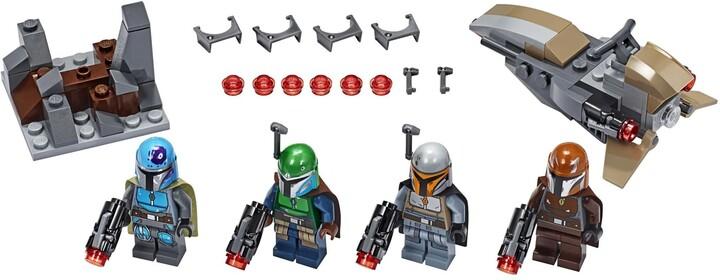 LEGO Star Wars TM 75267 Bitevní balíček Mandalorianů