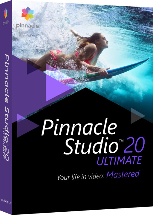 Corel Pinnacle Studio 20 Ultimate Corp License (5-10) ML