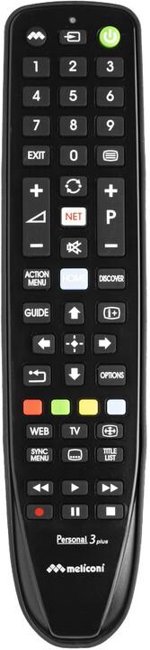 Meliconi univerzální dálkové ovládání GUMBODY PERSONAL 3 pro televize Sony