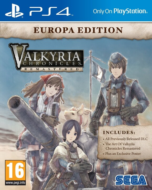 Valkyria Chronicles Remastered: Europa Edition (PS4)