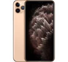 Apple iPhone 11 Pro Max, 256GB, Gold - MWHL2CN/A + Zadní kryt Forever Bioio pro iPhone 11 Pro Max žlutý v hodnotě 299 Kč