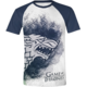 Tričko Game of Thrones - Painted Stark Raglan (L)