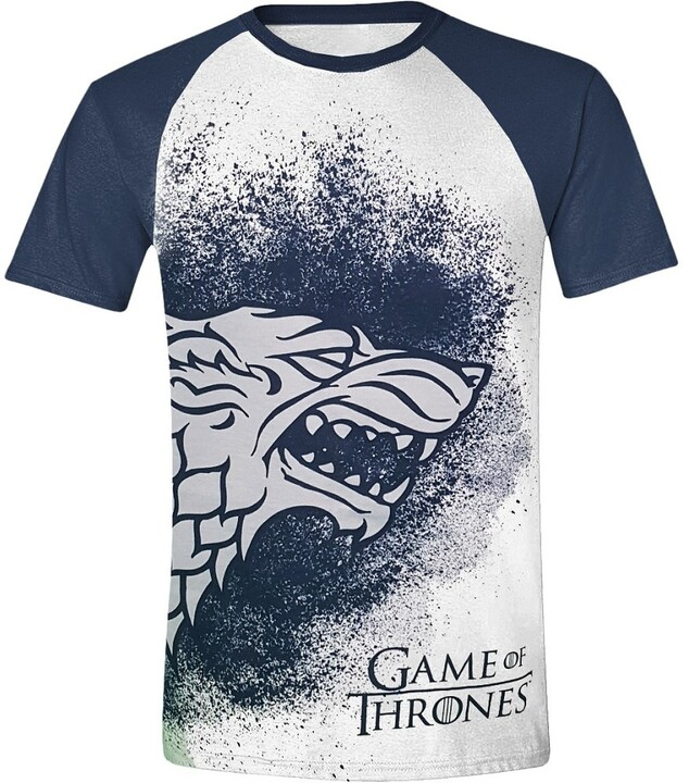 Game of Thrones - Painted Stark Raglan (XL)