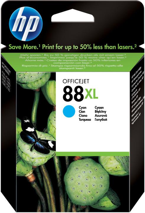 HP C9391AE, no.88, azurová – ušetřete až 50 % oproti standardní náplni