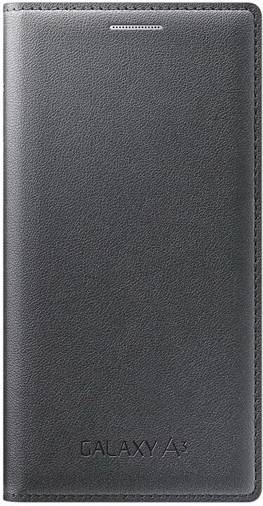 Samsung flipové pouzdro EF-FA300B pro Galaxy A3 (SM-A300), černá