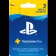 Playstation Plus Card - 90 dní  + Voucher až na 3 měsíce HBO GO jako dárek (max 1 ks na objednávku)